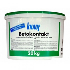 Кнауф Бетоконтакт, грунтовка кварцевая, 5 кг