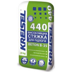 Крайзель 440, стяжка для пола 25-100 мм, 25 кг