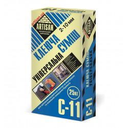 Артисан С-11 для приклеивания керамической плитки, 25кг
