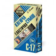 Артисан С-17 клей с повышенной адгезией для плитки, 25кг