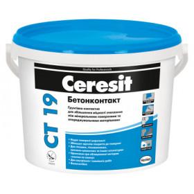 Ceresit CT-19 Бетонконтакт, грунтовка с высокой адгезией15 кг