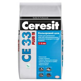 Ceresit CE 33 затирка для швов, 2 кг.