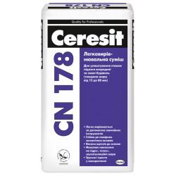 Ceresit CN-178 для устройства стяжек15-80мм, 25 кг