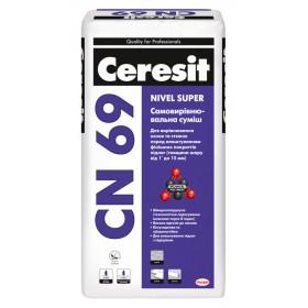 Ceresit CN-69 наливной пол 3-15мм, 25 кг
