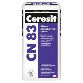 Ceresit CN-83 смесь для быстрого ремонта стяжек, 25 кг