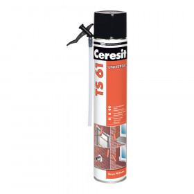 Ceresit TS 61, монтажная пена универсальная, 750 мл