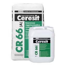Ceresit CR-66, двухкомпонентная гидроизоляция, 17 кг+5 л