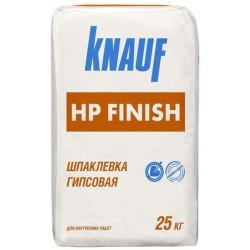 Кнауф HP Finish, финишная гипсовая шпаклевка 1-5 мм, 25 кг.