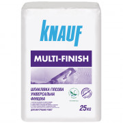 Кнауф Мультифиниш, гипсовая шпаклевка 1-5 мм, 25 кг