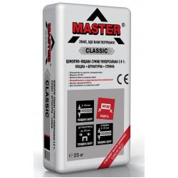 Мастер Классик ЦПС универсальная смесь для стяжки, штукатурки, кладки. , 25 кг