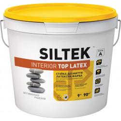 Силтек Interior Top Latex, интерьерная краска, 9 л