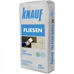 Кнауф Флизен (аналог Ceresit СМ-11) для приклеивания плитки, 25 кг
