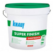 Кнауф Sheetrock SuperFinish, готовая шпклевка 1-3 мм, 5,4 кг