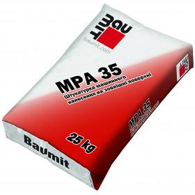 Баумит МПА 35 машинная штукатурка 20-25 мм, 25кг