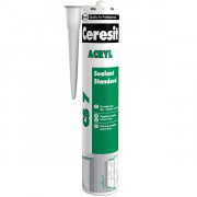 Ceresit силикон прозрачный/белый, 280 гр
