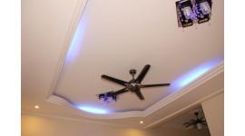 Потолок из гипсокартона: технология выполнения работ?