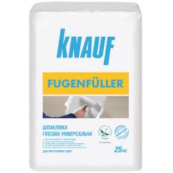 Кнауф FugenFuller, для ГКЛ швов финишная шпаклевка 1-5 мм, 25 кг
