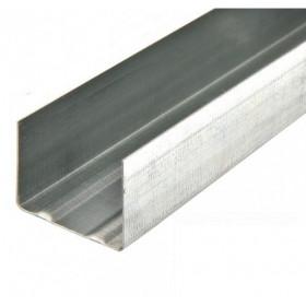 Профиль КНАУФ UW - 100 0.6 мм, длина 3/4м