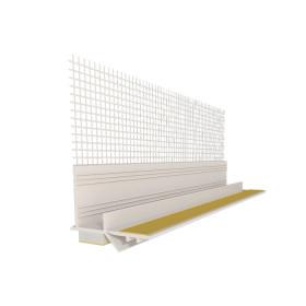 Приоконный профиль с стеклотканевой сеткой