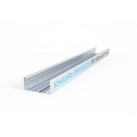 Профиль Кнауф CD-60 0.6 мм, длина 3/4м