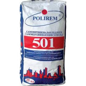 Полирем 501 наливной пол 5-30 мм, 25 кг