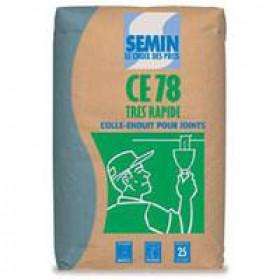 Семін СЕ-78 (Франция), шпаклевка для заделки швов ГКЛ, 25 кг