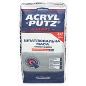 Snezka Acril-Putz Старт+ Финиш 2в1 шпаклевка 3-30 мм, 20 кг.
