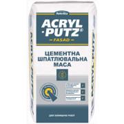 Snezka Acril-Putz Фасад, шпаклевка цементная до 30 мм, 20 кг.