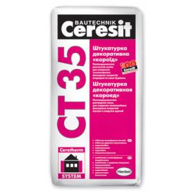 "Ceresit CT 35 Короед ""база"" штукатурка (зерно 2,5 мм), 25кг"