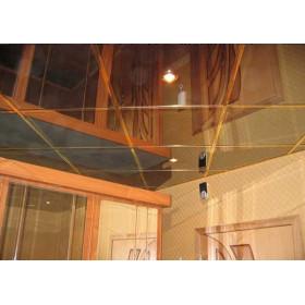 Зеркальный алюминиевый потолок, золото
