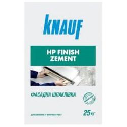 Кнауф HP Finish Zement, цементная шпаклевка, 25кг