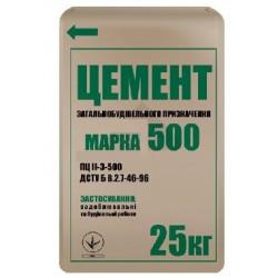 Цемент M-500, 25 кг