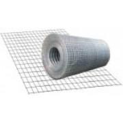 Сетка штукатурная, сварная 25х12х0,7 мм, 30 м2, чёрная