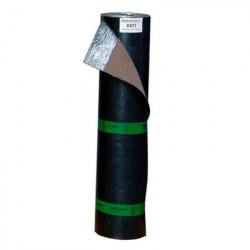 Полипласт ХКП 4,0 сланец серый кровельный рубероид, 9 м2