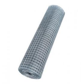 Сетка сварная штукатурная 12х25х0,7 мм оцинкованная, 30 м