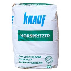 Кнауф Форшпритцер штукатурка-обрызг 4мм, 40 кг