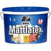 Dufa Mattlatex D100, краска латексная влагостойкая 1 л