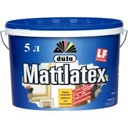Dufa Mattlatex D100, краска латексная влагостойкая 5 л