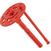 Дюбель-зонт с пластмассовым стержнем 10х90 мм