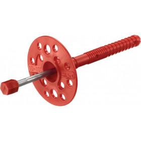 Дюбель-зонт с металлическим стержнем 10х100 мм
